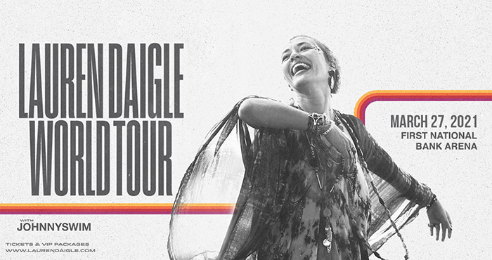 Lauren Daigle's concert has moved to March 27, 2021