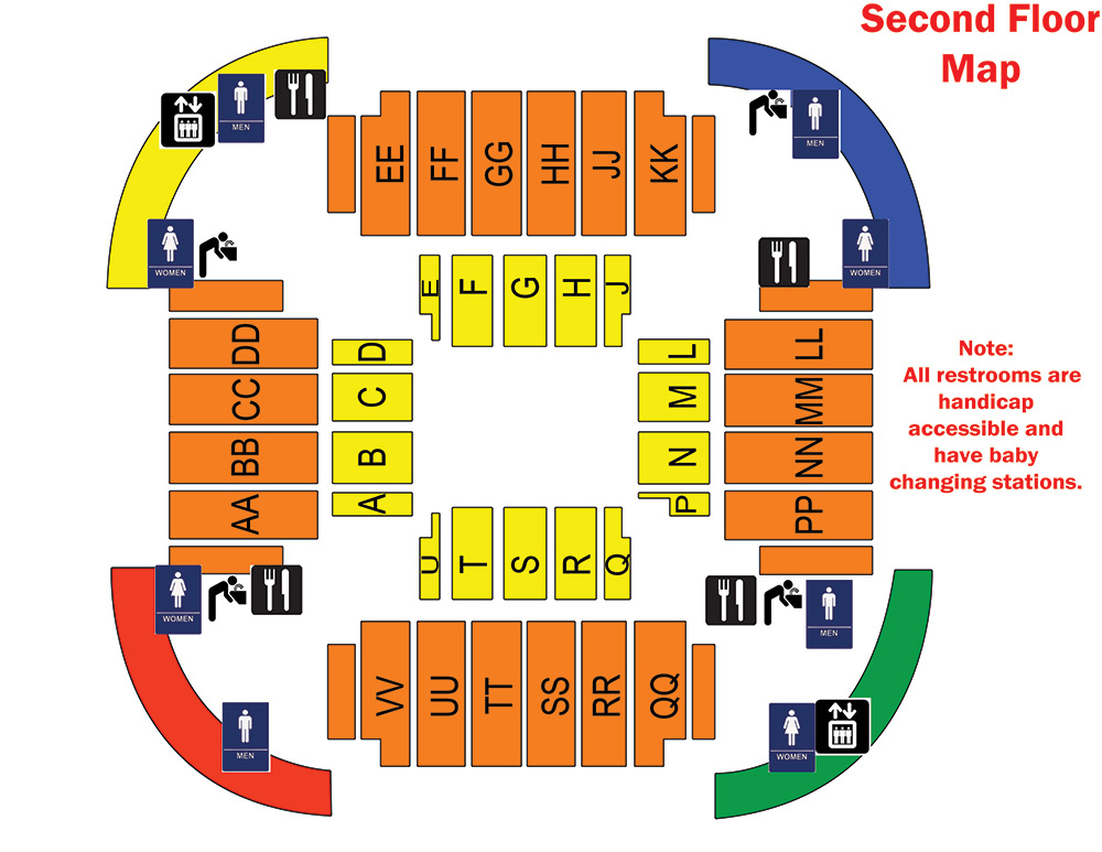 Convo 2nd floor building diagram