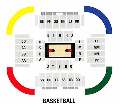 Convo basketball layout