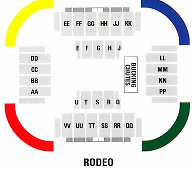 Convo rodeo layout