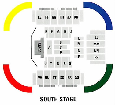 Convo south stage layout