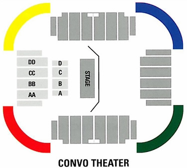 Convo theater layout