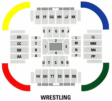 Convo wrestling layout