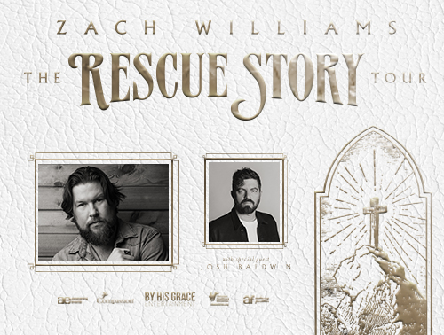 Zach Williams - Rescue Story | The Tour