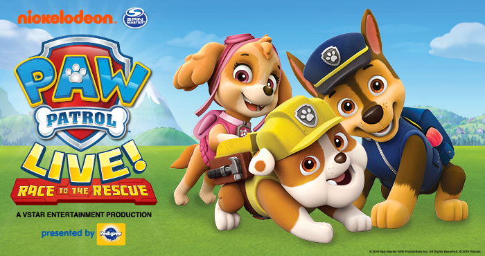 "PAW Patrol Live! ""Race to the Rescue"" Takes Center Stage in Jonesboro"